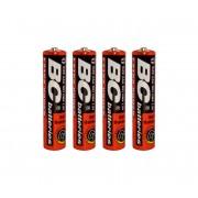 4 buc Baterii clorură de zinc EXTRA POWER AAA 1,5V