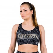 Tatami Fightwear Tatamis Fightwear métal sport Bra - noir/gris