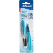 Stilou Twist Pelikan albastru - blister