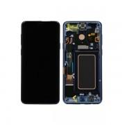 Display Cu Touchscreen Si Rama Samsung Galaxy S9 Plus Original Albastru