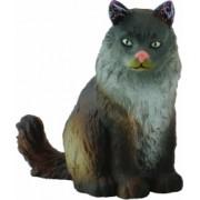 Pisica norvegiana din padure - Animal figurina