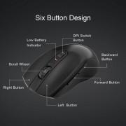 TeckNet M106 Wireless Mouse - ергономична безжична мишка (за Mac и PC)