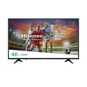 LYTIO Hisense 55'' Smart TV 4K Televisor Ultra HD HDR Pantalla LED TV con Wi Fi y Las Mejores Aplicaciones como Netflix Youtube Vudu y más 55H6E (Renewed)