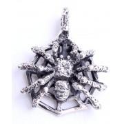 kulcstartó ezüst SPIDER 1 - 154 - BR
