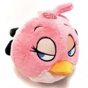 "Talking Angry Birds 9"" Plush Pink Bird"