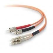 Videk - Cavo in fibra ottica duplex 62.5/125 LC a ST da 3 metri