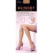 Kunert - Transparent run resist knee highs Chinchillan 20