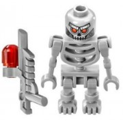 New Lego Movie Robo Skeleton Minifig 70817 70814 70807 Robot Droid Minifigure