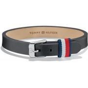 Tommy Hilfiger Brățară neagră din piele TH2700956