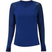 adidas Camiseta Manga Longa adidas Alphaskin Sport LS - Feminina - AZUL ESCURO