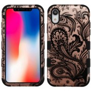 Funda Case Iphone XR Doble protector Uso Rudo Tuff - Phoenix