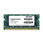 Patriot Memory 8GB PC3-12800 memoria DDR3 1600 MHz