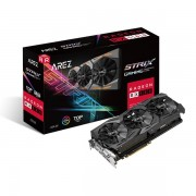 VGA Asus AREZ Strix Radeon RX 580 TOP edition 8GB, AMD RX580, 8GB, do 1431MHz, DP 2x, DVI-D, HDMI 2x, 36mj (AREZ-STRIX-RX580-T8G-GAMING)