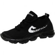 Max Air Sports Shoes 8880 R Black White