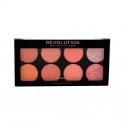 Makeup Revolution London Blush Palette 12,8 g paleta 8 líceniek pre ženy Hot Spice