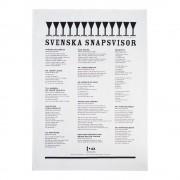 United Svenska snapsvisor Handduk 50x70 cm