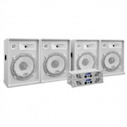 Electronic-Star DJ PA система WHITE STAR серии 'ARCTIC FROST PRO' 3200W комплект (PL-AU-WH-3200-4.0)