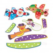 Baker Ross Festive Friends Gliders (Pack of 8)