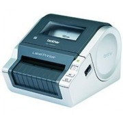 Brother QL-1060N - Brother QL 1060N Network Label Printer - Automatic scissurs svart/Silver