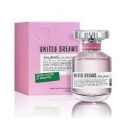 United Colors of Benetton United Dreams love yourself perfume of 80 Ml for Women