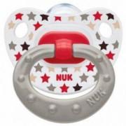 Бебешка силиконова залъгалка 18+ месеца - Happy Days, Nuk, Асортимент, 101099