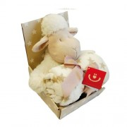 Bobobaby Fleecefilt med Gosedjur Lamm