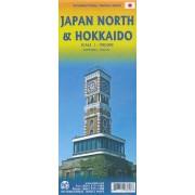 Wegenkaart - landkaart Japan North & Hokkaido | ITMB