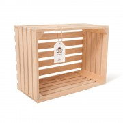 """Lădiță din lemn de fag 40 x 30 x 20 cm """"Lemnica"""""""