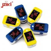 Pulsoximetru portabil pentru masurarea pulsului si a saturatiei de oxigen Jziki JZK-302