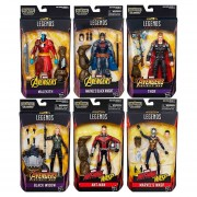 Marvel Legends Series 6 Pulgadas (BAF Cull Obsidian)