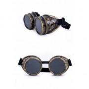 Smiffys Steampunk accessoires bruine bril