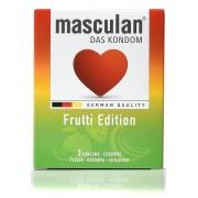 Masculan Frutti edition kondomi pakovanje sa 3 kondoma