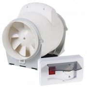 Pachet Promo: Ventilator ELICENT AXM 150 de tubulatura + Regulator de viteza Elicent R15
