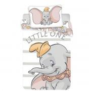 Lenjerie de pat copii Jerry Fabrics Dumbo, din bumbac, 100 x 135 cm, 40 x 60 cm