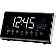 Radio cu ceas desteptator, afisarea temperaturii si prognoza meteo, Denver CR-718