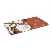 Xenos Tafellaken dunisilk - 138x220 cm - winter kerstfiguren