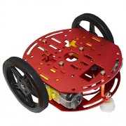 Olimex ROBOT-2WD-KIT2 Feetech FT-DC-002 Robotic Vehicle Chassis Arduino Crumble Build-Bot Crumblebot PicoCon Mindsets