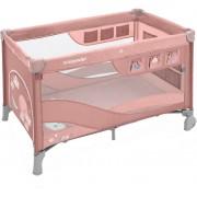 Patut pliabil Baby Design cu 2 nivele Dream Regular 08 Pink 2019