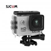 SJCAM SJ4000 acción 1080P Cámara deportes DV 2,0 pulgadas buceo 30M impermeable HD extremo al aire libre casco Original SJ 4000 Cam(#Plata)(#Option 6)