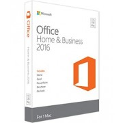 Office Mac Home Business 1PK 2016 English EuroZone Medialess P2