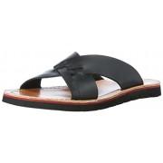 Clarks Men's Pennard Cross Black Sandals and Floaters - 7.5 UK/India (41.5 EU)