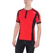 GORE RUNNING WEAR AIR Hardloopshirt korte mouwen Heren Shirt rood XL 2015 Hardloopshirts