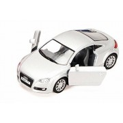 2008 Audi Tt Coupe, Silver Kinsmart 5335 D 1/32 Scale Diecast Model Toy Car