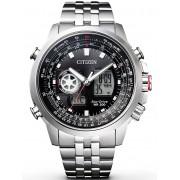 Ceas barbatesc Citizen Eco-Drive Promaster Sky GMT JZ1060-50E 46 mm 200M