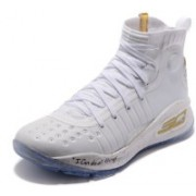 Underarmour UA Curry 4 White Basketball Shoes For Men(White)