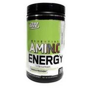 OPTIMUM NUTRITION Essential Amino Energy, On, Sabor Manzana, 30 servicios
