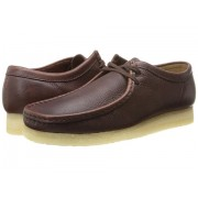 Clarks Wallabee Brown Tumbled Leather