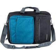"Geanta Laptop Modecom Reno 15.6"" (Neagra-Albastra)"