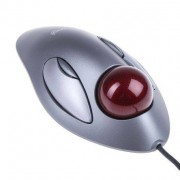 Logitech Mouse Ottico Trackball USB Cablato , pulsanti 2, 910-000808