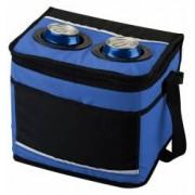 Geanta frigorifica albastru-negru capacitate 12 doze